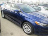 2015 Deep Impact Blue Metallic Ford Fusion SE #96592085