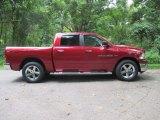 2011 Deep Cherry Red Crystal Pearl Dodge Ram 1500 Big Horn Crew Cab 4x4 #96592510