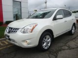 2013 Pearl White Nissan Rogue SV AWD #96592286