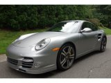 2012 GT Silver Metallic Porsche 911 Turbo S Coupe #96592063