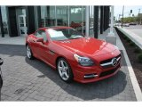 2015 Mercedes-Benz SLK Mars Red