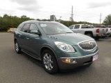 2010 Silver Green Metallic Buick Enclave CXL AWD #96591948