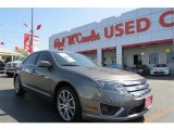 2011 Sterling Grey Metallic Ford Fusion SE V6 #96630054