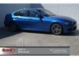 2015 Estoril Blue BMW 3 Series 328i Sedan #96630143