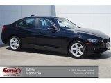 2014 Jet Black BMW 3 Series 320i Sedan #96630136