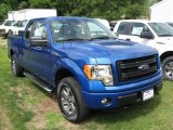 2014 Blue Flame Ford F150 STX SuperCab 4x4 #96645913