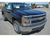 2014 Black Chevrolet Silverado 1500 WT Regular Cab #96648872