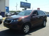 2012 Dark Cherry Kia Sorento LX AWD #96648972