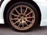 Mitsubishi Lancer Evolution 2012 Wheels and Tires