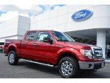 2014 Ruby Red Ford F150 XLT SuperCrew 4x4 #96648698