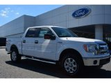 2014 Oxford White Ford F150 XLT SuperCrew 4x4 #96648695