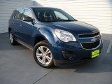 2010 Navy Blue Metallic Chevrolet Equinox LS #96648799