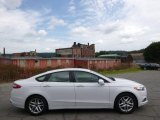 2013 White Platinum Metallic Tri-coat Ford Fusion SE #96648658