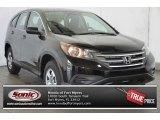 2014 Crystal Black Pearl Honda CR-V LX #96679853