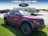 2014 Ruby Red Ford F150 SVT Raptor SuperCrew 4x4 #96679984