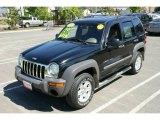 2002 Black Jeep Liberty Sport 4x4 #9566345