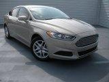 2015 Tectonic Silver Metallic Ford Fusion SE #96680079