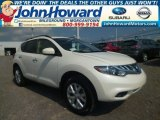 Pearl White Nissan Murano in 2014