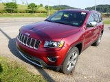 2015 Jeep Grand Cherokee Deep Cherry Red Crystal Pearl
