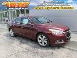 2015 Butte Red Metallic Chevrolet Malibu LTZ #96718162