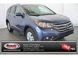 2014 Twilight Blue Metallic Honda CR-V EX-L #96718147