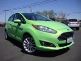 2014 Green Envy Ford Fiesta SE Hatchback #96718403