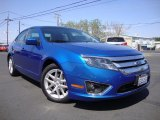 2011 Blue Flame Metallic Ford Fusion SEL #96718397