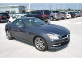 2014 Steel Grey Metallic Mercedes-Benz SLK 250 Roadster #96758981