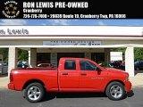 2012 Flame Red Dodge Ram 1500 ST Quad Cab 4x4 #96758713