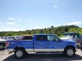 2014 Blue Flame Ford F150 XLT SuperCrew 4x4 #96758613
