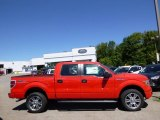 2014 Race Red Ford F150 STX SuperCrew 4x4 #96758611