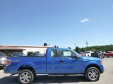 2014 Blue Flame Ford F150 STX SuperCab 4x4 #96758610