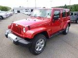2015 Jeep Wrangler Unlimited Firecracker Red