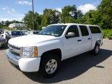 2009 White Diamond Tricoat Chevrolet Silverado 1500 LT Crew Cab 4x4 #96758861