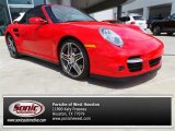 2008 Guards Red Porsche 911 Turbo Cabriolet #96805405