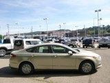 2015 Tectonic Silver Metallic Ford Fusion S #96805104