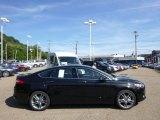 2015 Tuxedo Black Metallic Ford Fusion Titanium AWD #96805102