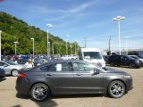 2015 Magnetic Metallic Ford Fusion Titanium AWD #96805100