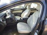 2015 Ford Fusion Titanium Medium Soft Ceramic Interior