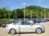 2015 Tectonic Silver Metallic Ford Fusion SE #96805098