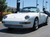 1995 Grand Prix White Porsche 911 Carrera Cabriolet #9568895