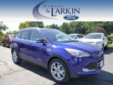 2014 Deep Impact Blue Ford Escape Titanium 2.0L EcoBoost 4WD #96805134