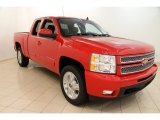 2013 Victory Red Chevrolet Silverado 1500 LTZ Extended Cab 4x4 #96805523