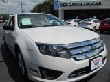 2011 White Suede Ford Fusion S #96850912