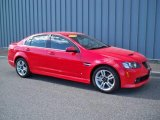 2009 Liquid Red Pontiac G8 Sedan #9558592