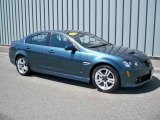 2009 Pacific Slate Metallic Pontiac G8 Sedan #9625936