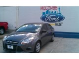 2014 Sterling Gray Ford Focus S Sedan #96850901