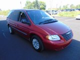 2007 Chrysler Town & Country Inferno Red Crystal Pearl