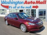 2011 Basque Red Pearl Honda Accord EX-L Sedan #96850955
