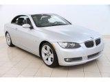 2009 Titanium Silver Metallic BMW 3 Series 335i Convertible #96880008